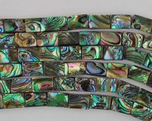 Abalone bead #025