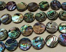 16mm abalone bead