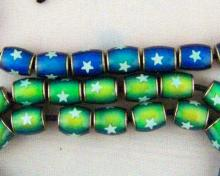 12x8 mm Mirage Bead with star