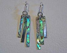 paua chime earrings