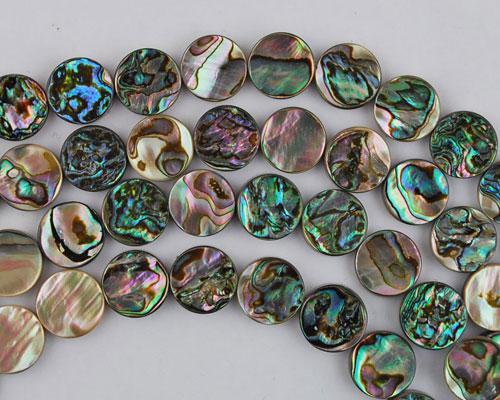 Abalone bead #014