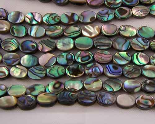 abalone bead #030
