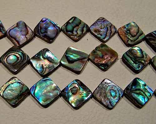abalone beads #027