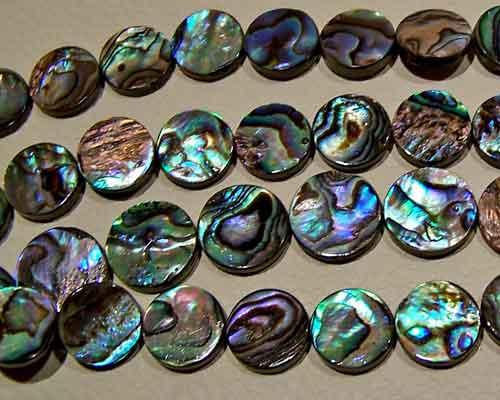abalone bead #015