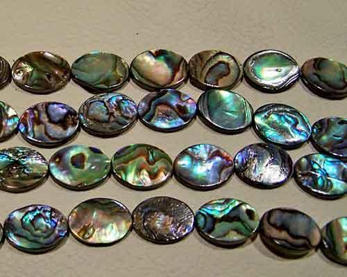 Abalone bead #032