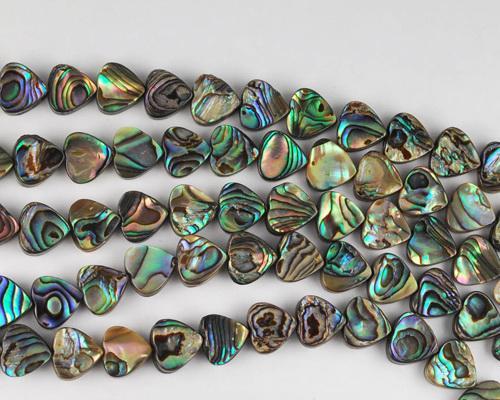 abalone beads #0042
